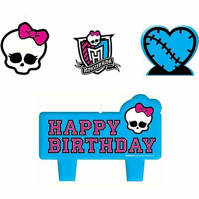 Monster High Party Decor (New Monster High Birthday Party Supplies Tableware &)