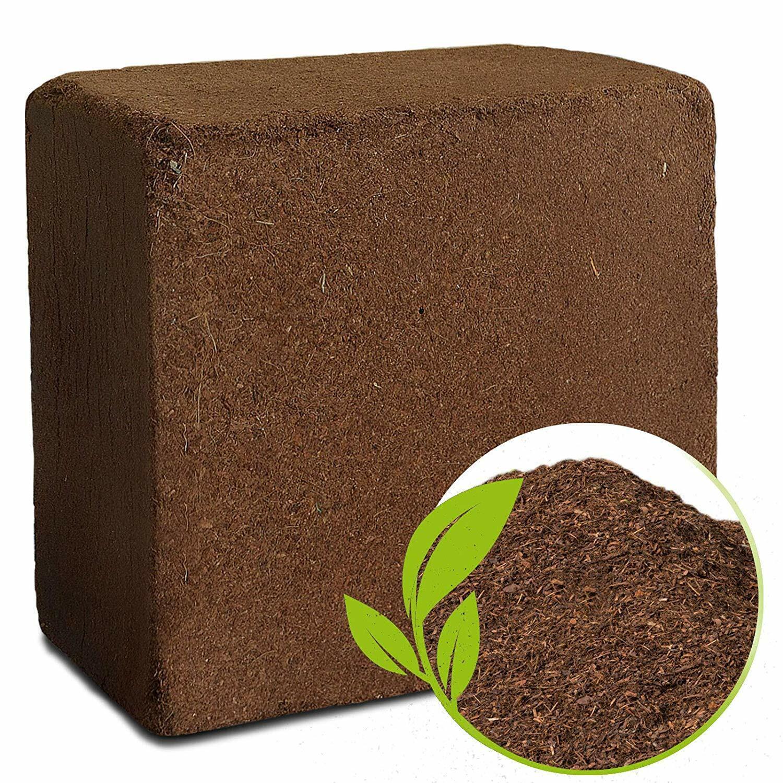 im Quellbeutel ergibt 10 L Kokoserde Blumenerde Substrat
