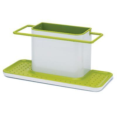 Joseph Joseph Caddy Sink Tiddy Brush Storage Organiser Drainer Large White/Green