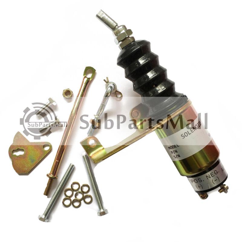 Shutdown Solenoid RSV SA-3765-12 for Bosch Deutz F4L913 SA-3765 12Volt Left-hand