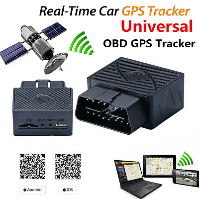 Car Suv Gps Realtime Tracker Obdii Obd2 Gsm Gprs Tracking Device For Android Ios