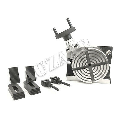Auzaar 4 Verticlehorizontal Rotary Table With Clamping Kit - Free Usa Shipping