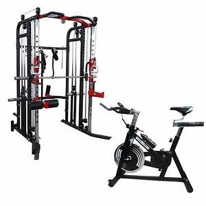 Brand New Functional Trainer with Spin Bike Package Osborne Park Stirling Area Preview