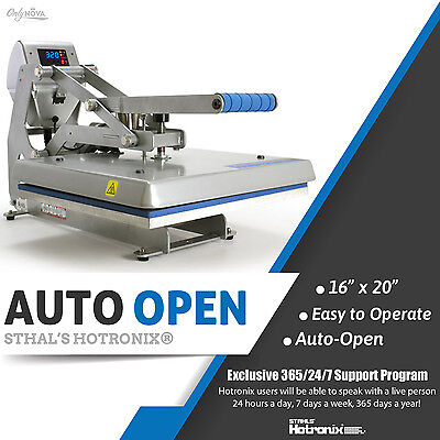 Stahls Hotronix Auto Open Clam Heat Press 16 X 20 Free Fedex Ground Shipping
