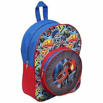 OFFICIAL BLAZE AND THE MONSTER MACHINE BOYS SCHOOL BACKPACK RUCKSACK BAG