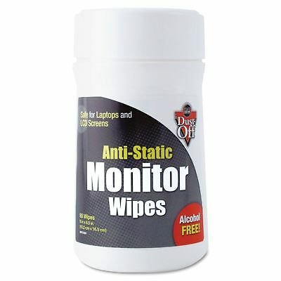 Dust-Off Premoistened Monitor Cleaning Wipes - 80 ct. 2 pk.