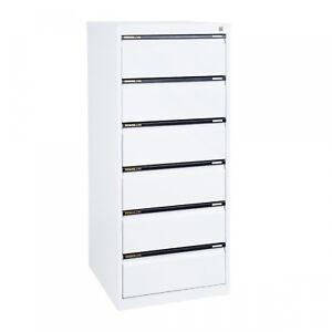 6 Drawer Standard Multistorage Legal Filing Cabinet-FREE DELIVERY