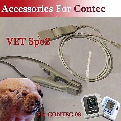 Usb Vet Verterinary Spo2 Sensor Probe For Contec08a Blood Pressure Monitor