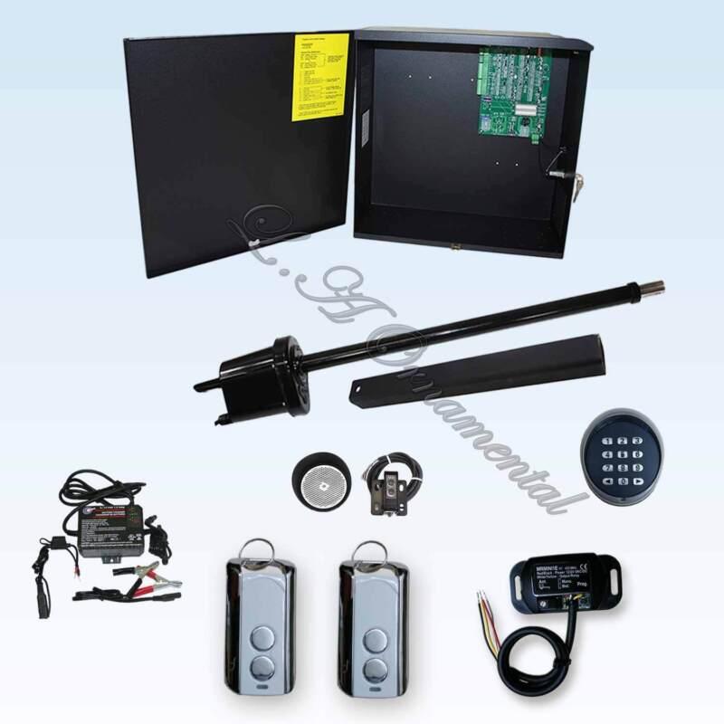 Apollo 1550 Etl Gate Opener Kit 7 Residential Swing Operator Low Voltage Remotes