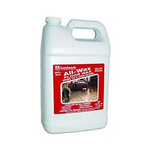 Lundmark Wax LUN 3201G01 2 1 Gallon All Floor Wax New