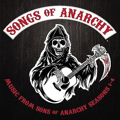 Sons Of Anarchy Cd   Songs Of Anarchy  Music From Seasons 1 4   New Unopened