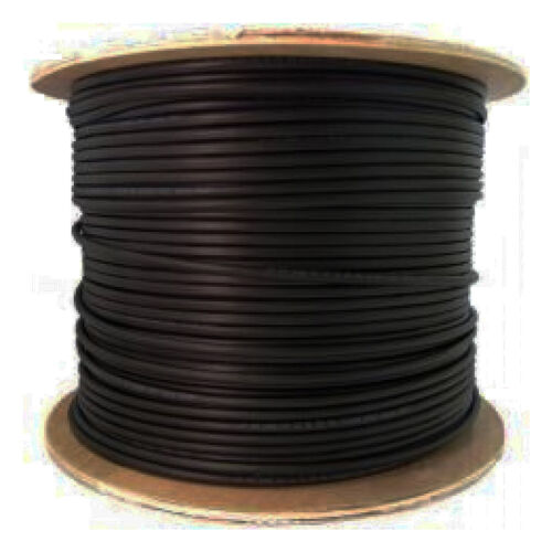 100m 328ft Solar PV cable wire gauge AWG 10 cable Black câble solaire CSA