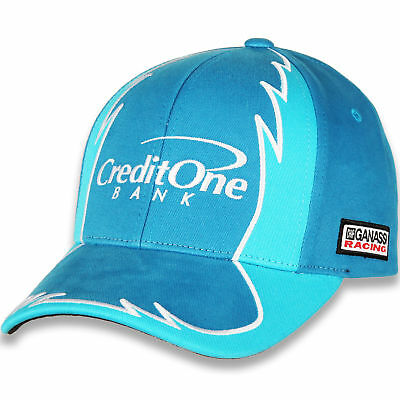 2018 Kyle Larson  42 Credit One Nascar Jagged Hat New W Tags Free Ship