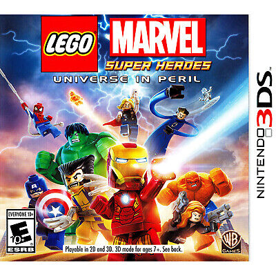 LEGO Marvel Super Heroes: Universe in Peril 3DS [Factory