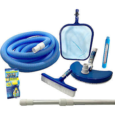 Swimming Pool Cleaning Equipment Supplies Above Ground Kit Telepole Skimmer