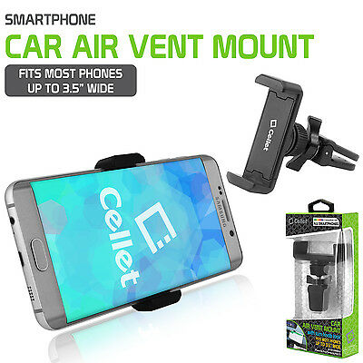Cellet Air Vent Smartphone Car Mount w/ 360 Degree Rotation/