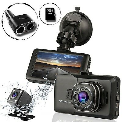 ✅*BRAND NEW* Uniden iWitness DC360 Front and Rear Camera Dash Cam Matte Black