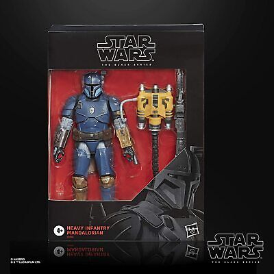 "Star Wars The Black Series 6"" Heavy Infantry Mandalorian Action Figure Hasbro"
