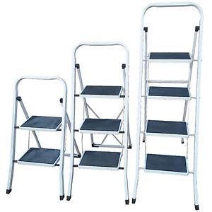 Blanco plegable cocina escalera de seguridad paso no for Escalera de cocina plegable