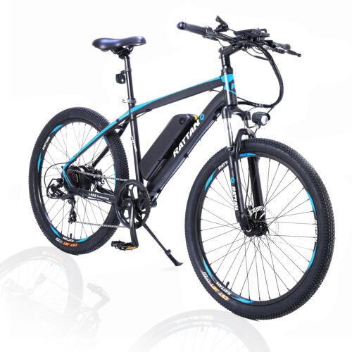 26'Aluminum Electric Mountain Bike shimano 7 Speed 48V 10.4A
