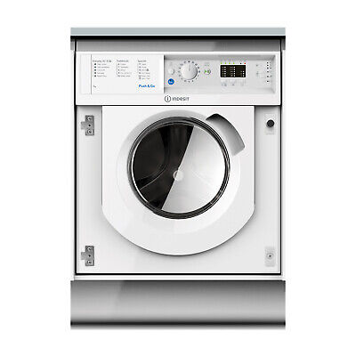 Indesit Integrated BIWMIL71252 7kg Washing Machine 1200RPM A++ - White