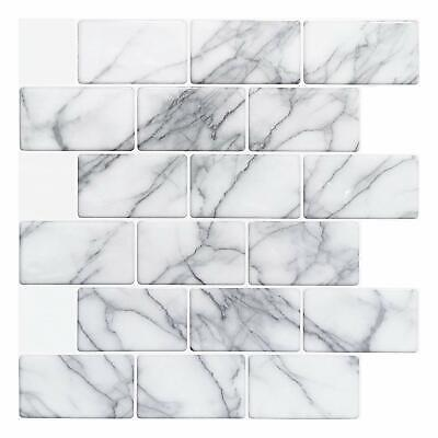 Peel and Stick Backsplash for Kitchen Bathroom, Self Adhesive Wall Tiles 3d