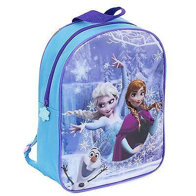 Disney Frozen Backpack Anna Elsa Olaf Junior School Bag With Adjustable Straps