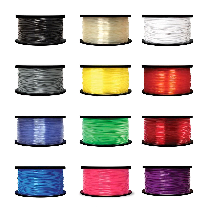Translucent Blue WYZwork 3D Printer Premium ABS Filament 3.0mm 1kg//2.2lb