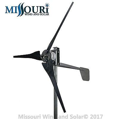DC output Confederate 700 watt 3 blade 12 volt wind turbine turbulent wind