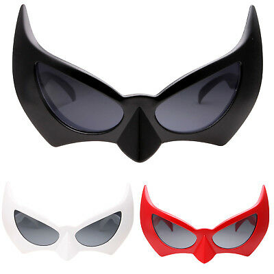 Batman Sunglasses Dark Knight Batgirl CatWoman Semi Masquerade Mask Costume gift