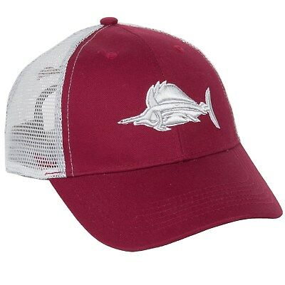 2179d3d38766a New Men s Heybo Cardinal Billfish Trucker Hat Snap-back One Size
