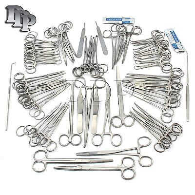 126 Pcs Caninefeline Spay Pack Veterinary Surgical Instruments Ds-1084