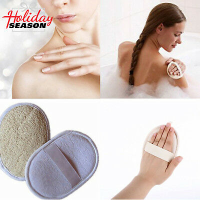 Loofah Luffa Sponge Body Face Bath Shower Exfoliator Skin Clean Scrubber -