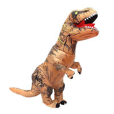 Halloween per adulti gonfiabile T Rex partito dinosauro costume (G2r)