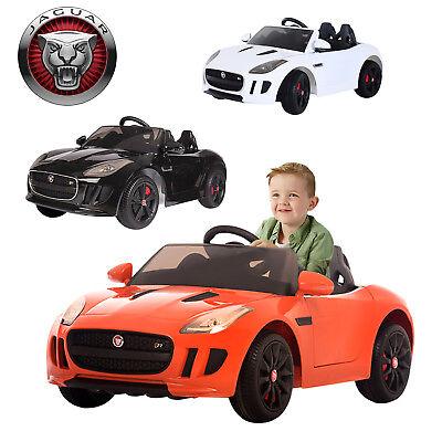 Jaguar F-Type Battery Car Kids Ride On Electric Sports Parental Remote Control
