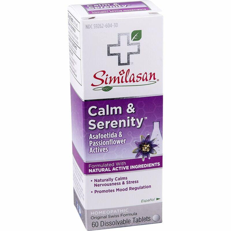 SIMILASAN - Calm & Serenity Tablets - 60 Dissolvable Tablets