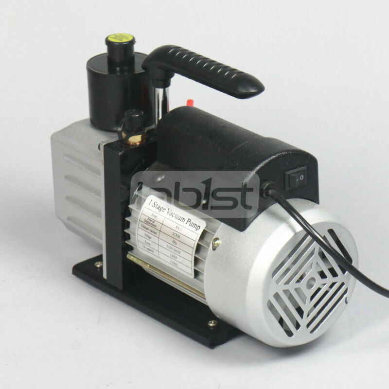 3CFM 110V single stage vacuum pump