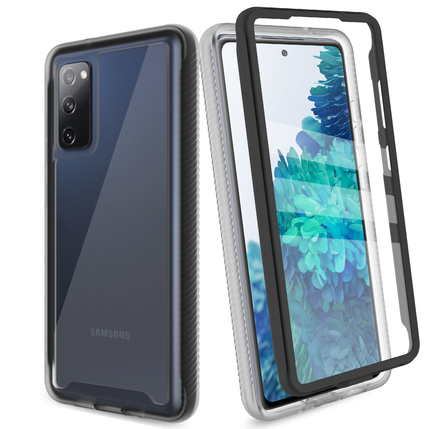 For Samsung Galaxy S20 FE 5G,Fan Edition Case Cover W/ Built-in Screen Protector Cases, Covers & Skins