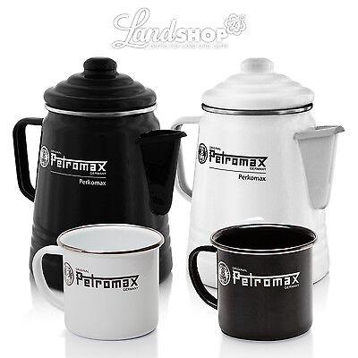 Petromax TEE caffè Percolatore Becher Pentola Smaltato Campeggio Outdoor tende