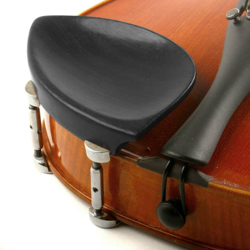 Kaufman 3/4-4/4 Violin Ebony Chinrest with Hill Bracket