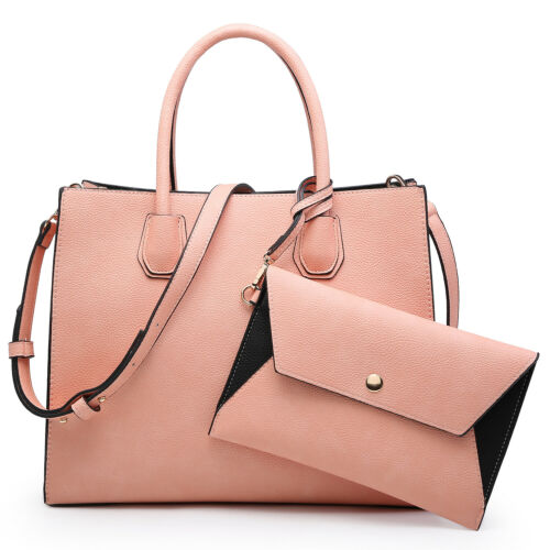 DASEIN Women's Handbags Purses Large Tote Shoulder Bag Satch