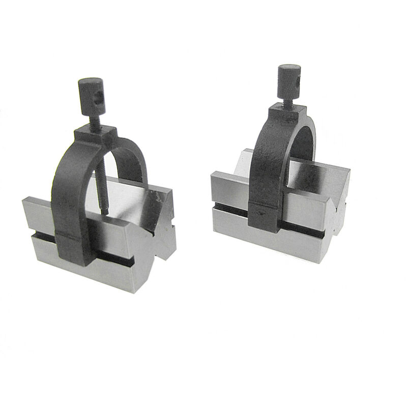 "HFS(R) Type B V-Block & C Clamp Set 2-3/4""*1-3/4""*1-1/2"""