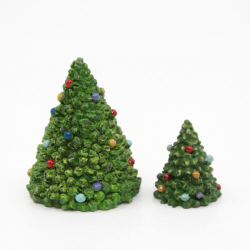 CHRISTMAS TREE Figurines - The North Pole Village - Enesco