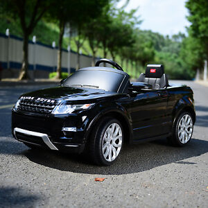 6V-Licensed-Range-Rover-Evoque-SQ4-Electric-Kids-Ride-On-Toy-Car-W-R-C