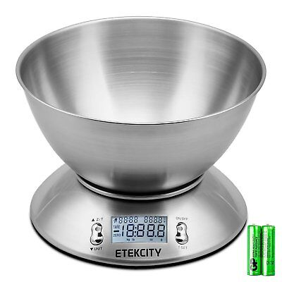 Etekcity Digital Kitchen Scale Multifunction Food Scale with