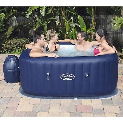 Lay-Z-Spa Hawaii Bestway Airjet Inflatable Hot Tub Spa  Next Day Delivery