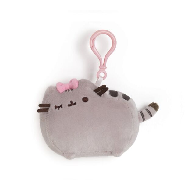 Pusheen The Cat - Pusheen With Bow Backpack Clip - *BRAND NEW*