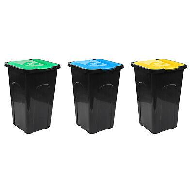 50L Mülleimer Abfalltonne Abfalleimer Mülltonne Papierkorb Küche Mülltrenner