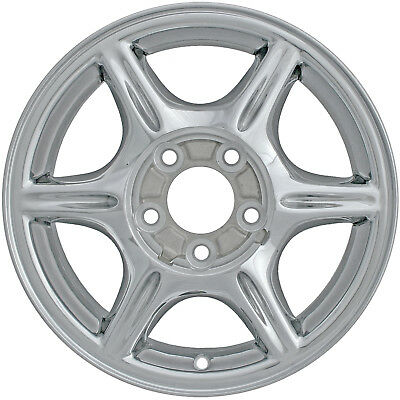 - New Aftermarket Replacement Alloy Wheel Rim 15x6, 5 Lugs ALY06034U80N 12368947