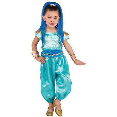 Shimmer & Shine Deluxe Girls Child Kids Genie Costume | RUBIES 620793 - Genie Child Costume
